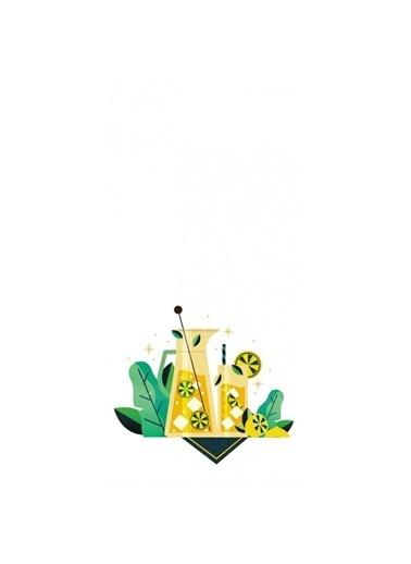 Artikel Limon Detaylı Dekoratif Çift Taraflı Yastık Kırlent Kılıfı 45x45 cm Renkli